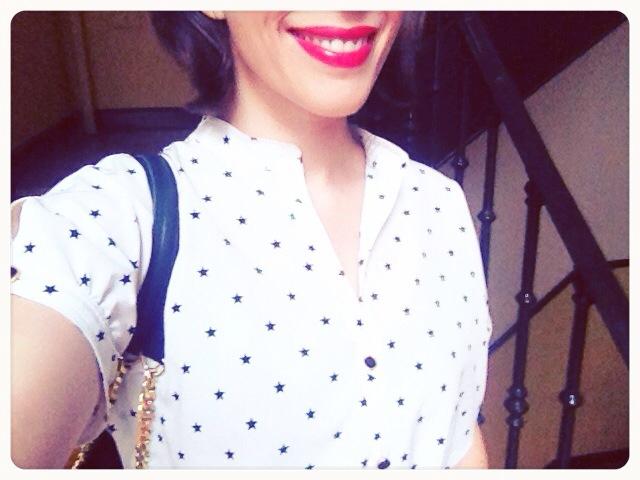 Camisa estrellas Blanco