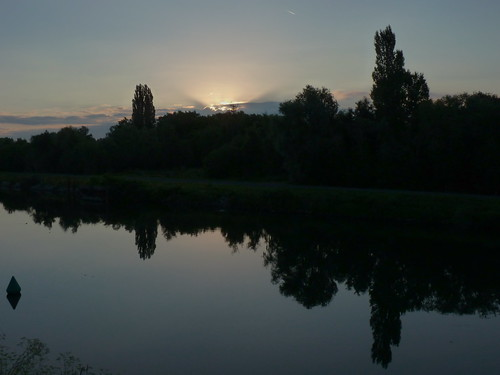 sun sunrise soleil canal marais lever aurore valenciennes aube escaut epaix