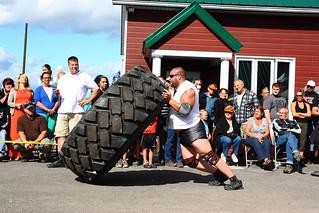 Marc Laplante à la Bascule du pneu