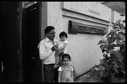 For My Grand Children A Visit To Mr Rajesh Khannas House Is a Pilgrimage And A Blessing- Ashirwad by firoze shakir photographerno1
