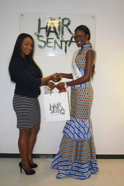 Miss Ghana 2013 winners visit Hair Senta (11)
