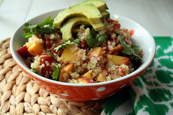 9559465884 24b83c6d3e z Lunch Time: Peachy Lime Quinoa Salad