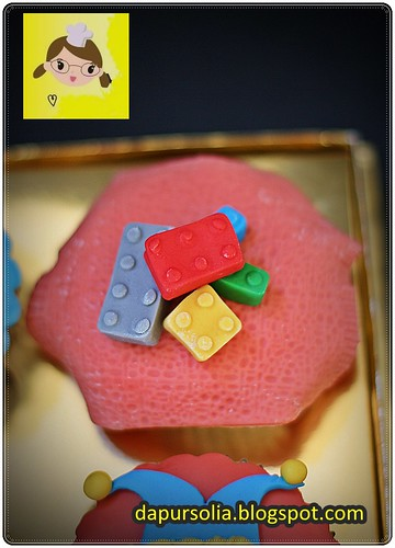 Lego Cupcake for Aqmal