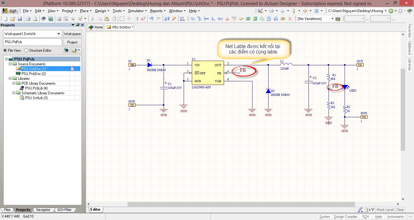Bài 3: Vẽ schematic và footprint trên altium(tt) | Vi mạch