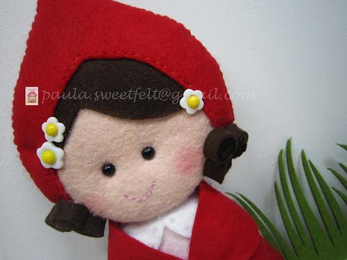 ♥♥♥ Onde vais, doce menina? ... by sweetfelt \ ideias em feltro