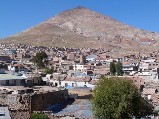 Cerro Rico en Potosí (Bolivia)