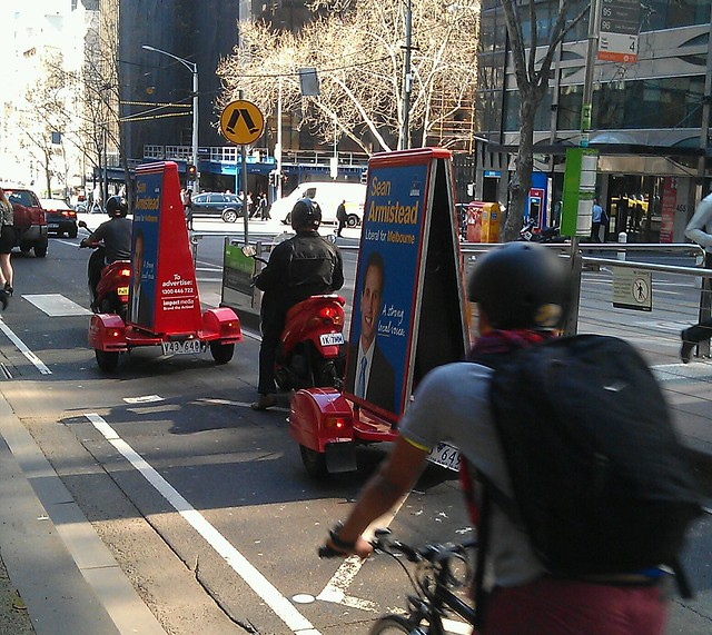 The Libs: adding to the traffic in Melbourne #AusVotes