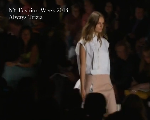 NY Fashion Week 2014 Always Trizia090