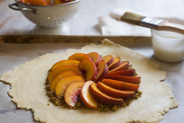 Peach Pistachio Galette_5