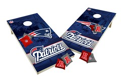 New England Patriots Custom Cornhole Boards XL