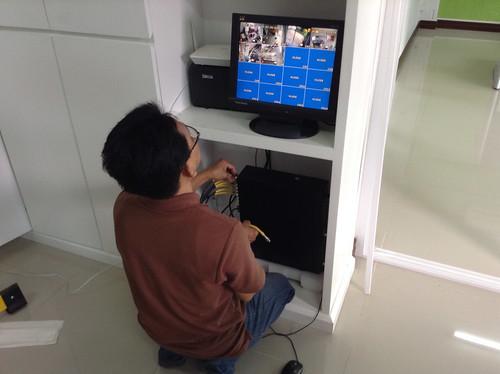 ติดตั้งระบบ CCTV บริษัท K.J. AutoCare – 21/09/56