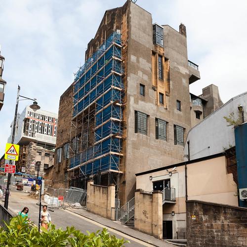 Glasgow School of Arts; copyright 2013: Georg Berg