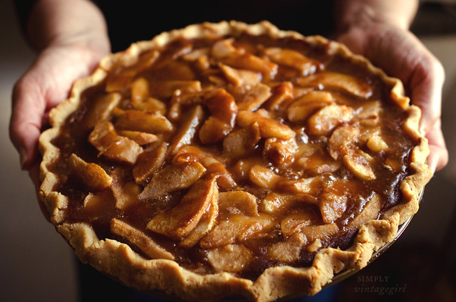 Harvest Time - Fresh Baked Pear Pie