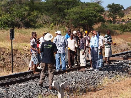 Tiilentekijät sulkivat kaivosyhtiön rautatien
