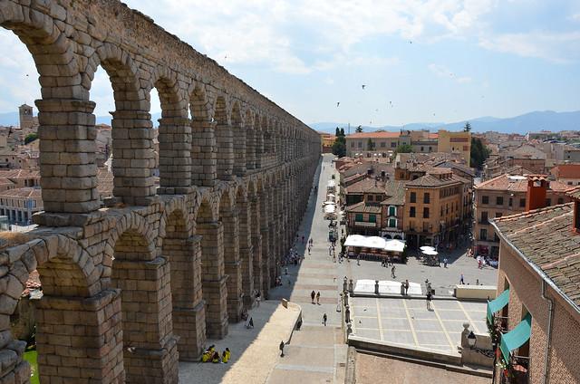 Segovia - Roman Aqueduct & Plaza de la Artillería 2