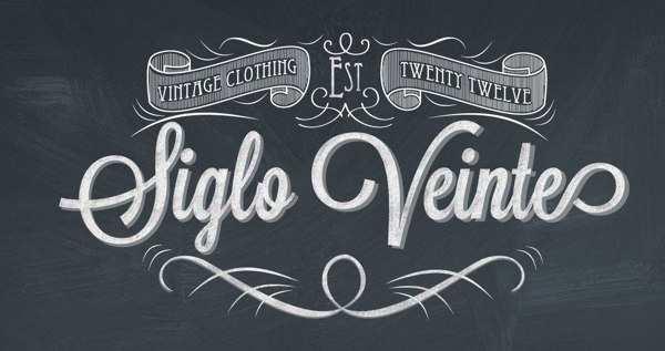 tipografias hechas para facebook