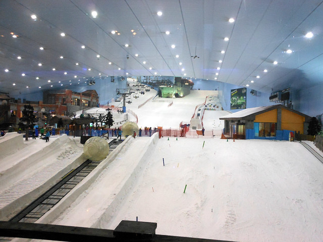 Ski Dubai at the Mall of the Emirates