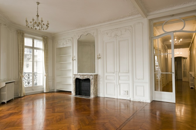 Things that inspire french style tall mirrors and paneled rooms for All paris apartments