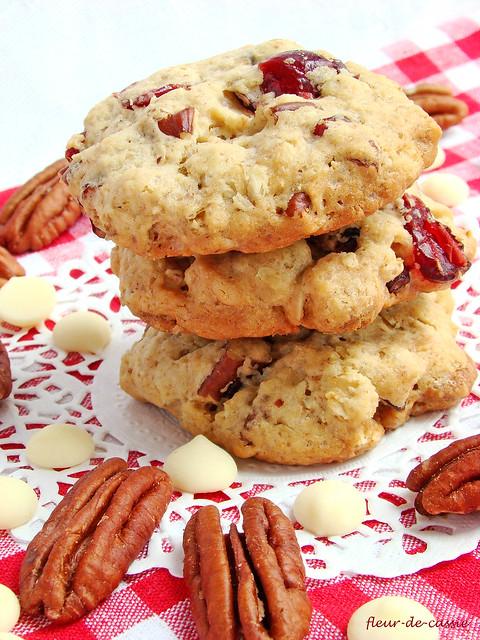 печенье с клюквой и белым шоколадом 1