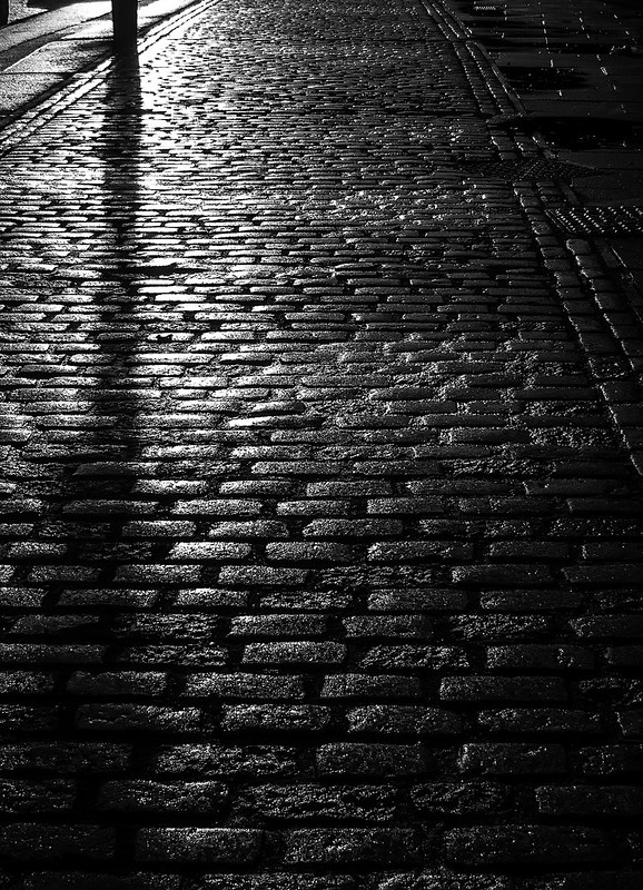 cobbled reflections
