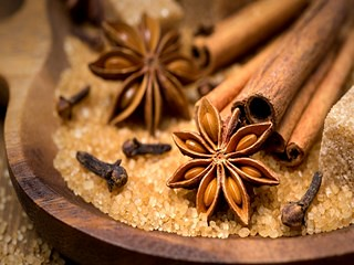 stars-anise-cloves-stick-cinnamon-sugar-spices-herbs-wallpaper-320x240