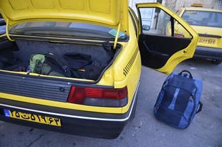 Foto taxi iraní