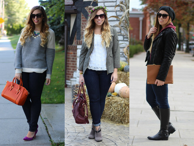 Living After Midnite: October Outfits