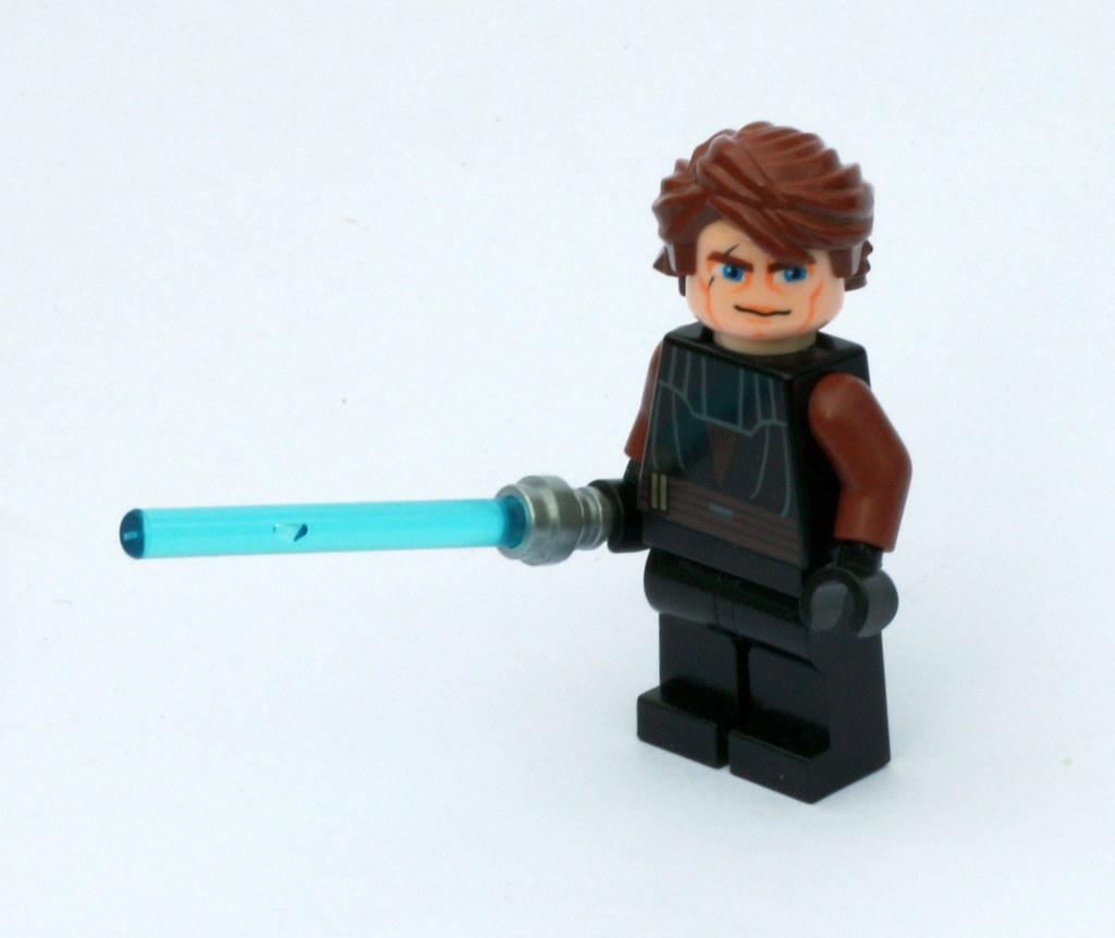 Anakin skywalker clone wars lego star wars minifigure - Lego star wars vaisseau anakin ...