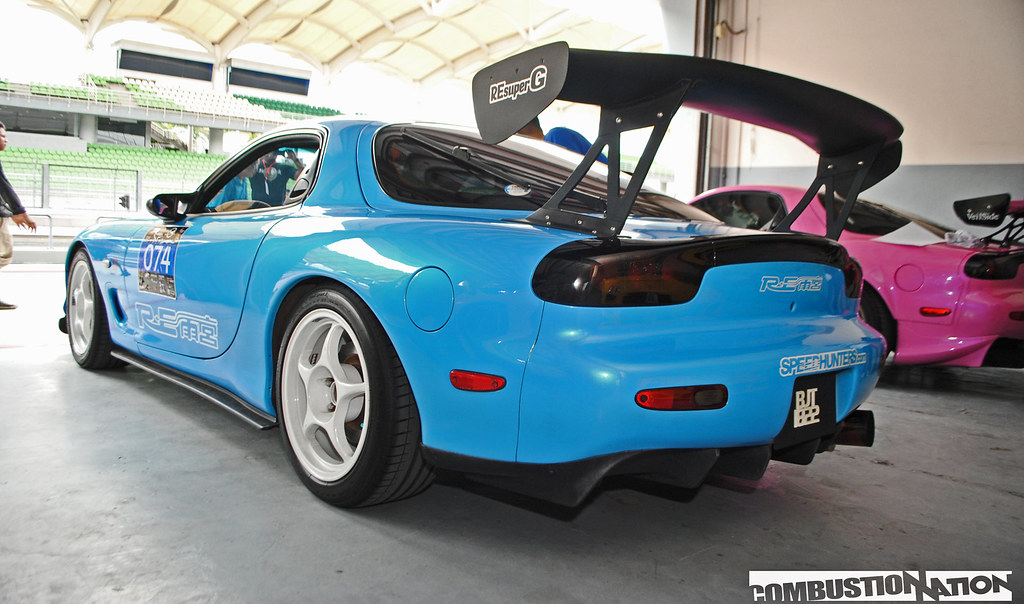 Mazda meet FD blue