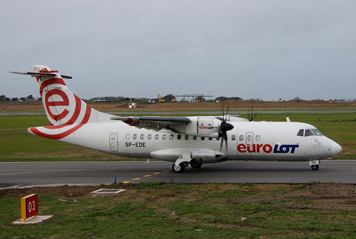 SP-EDE Aerospatiale ATR 42-500 by Guernsey Airport Photography
