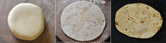 How to make soya kheema paratha  - Step6