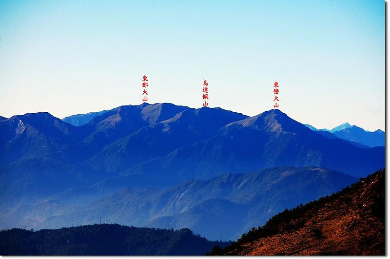 三叉峰環景(From 三叉峰營地,東至西南) 6