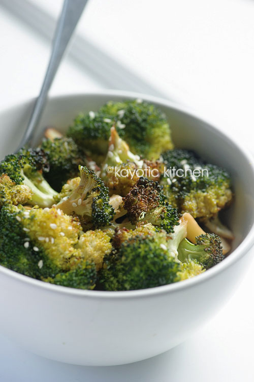 Sesame Roasted Broccoli