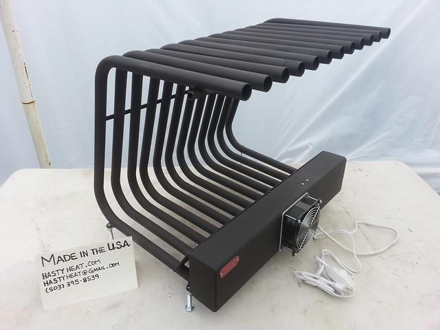 Hastyheat Fireback Fireplace Grate Heater Furnace Heat Exchanger Heatilator Cord Firewood Rack