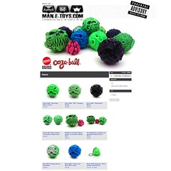 The Man-E-Toys store is now stocked with Oozeballs and MoDs! Check them out at manetoys.bigcartel.com