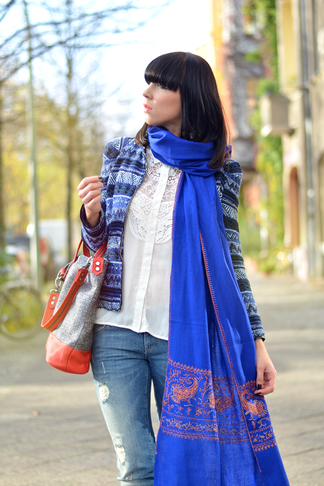 Kashmir Shawl Atelier Jahn For Jahn Sojeans Outfit CATS & DOGS fashion blog Berlin 7
