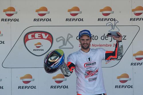 Xavi Fores Campeon CEV 2013