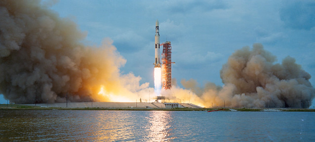 Skylab 1 is launched from Kennedy Space Center