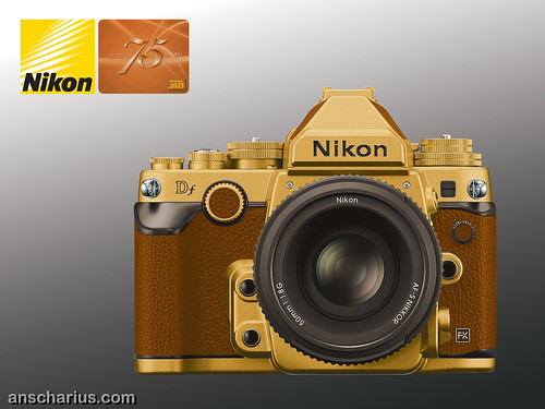 Nikon Df - Gold Edition