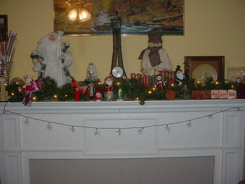 mantel full view