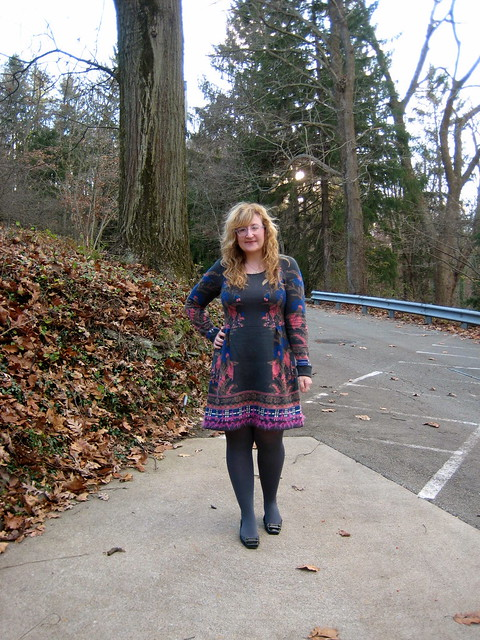 Sweater Dress OOTD