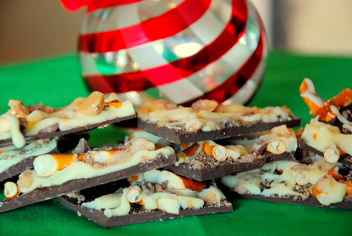 Holiday Cookie Countdown: Salted Toffee Pretzel Bark