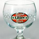 ベルギービール大好き!!【レオン1893の専用グラス】(管理人所有 )