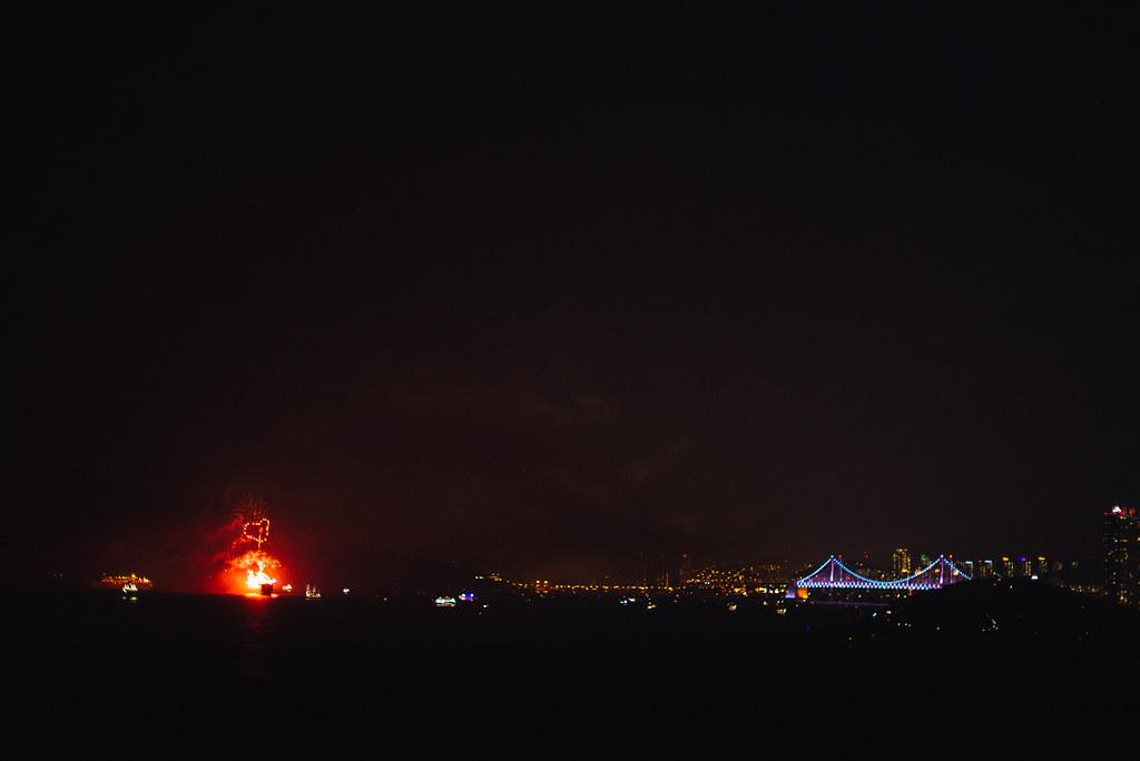 Firework festival in Busan