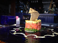 Tuna Tartare at Moonshadows - Malibu, California
