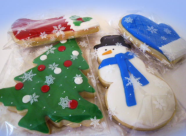 christmas_fondant_cookies by hands off my pho, on Flickr