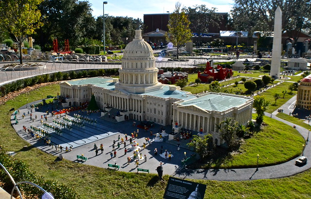 Legoland, Florida - Miniland - Washington DC