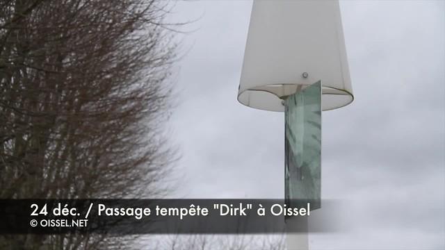 """24.12.2013 / Passage de la tempête """"Dirk"""" à Oissel (76)"""