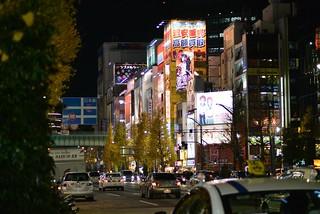 2013年12月20日の秋葉原。