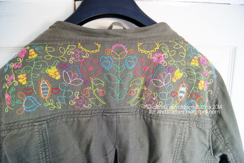 Embroidered jacket WIP